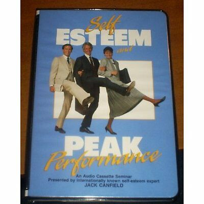 Self Esteem And Peak Performance-Audio Book-Cassette By Jack Canfield On
