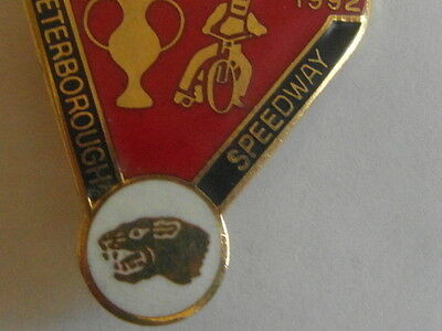 Peterbrough Red Gi;t 4 Speedway       Badge