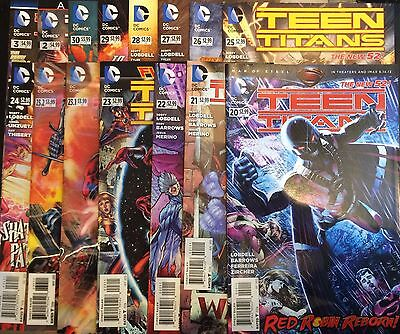 Teen Titans (Vol 4) #20-30 Run & Extras NM- 1st Print Free UK P&P DC Comics
