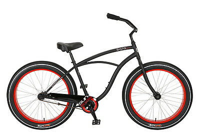 Bicicleta Sun Baja  Cruz Cruiser Bike Beach Negra Black
