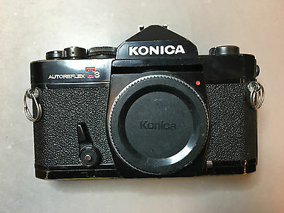 Antique Vintage Japan Konica Camera T3