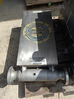 """Micro Motion DS300S155 Mass Flow Sensor 3"""" Flanged 316 Stainless Steel SS"""