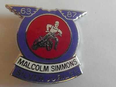 Malcolm Simmons Speedway       Badge