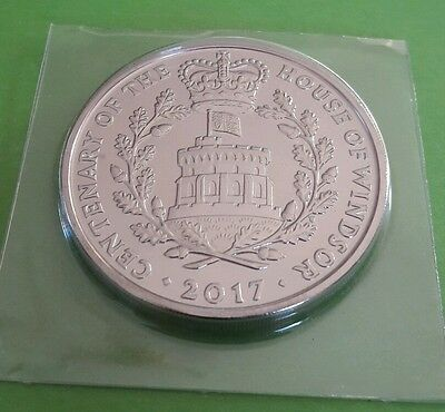 2017 UK ROYAL MINT FIVE POUND COIN  the the centenary of the house of windsor bu
