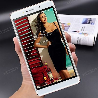 "XGODY 6"" 16GB Smartphone Quad Core Android Phone 3G/2G Cellulare 8MP qHD 2SIM"