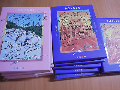 SEVENTEEN - BOYS BE (2nd mini Promo) with Autographed (Signed)