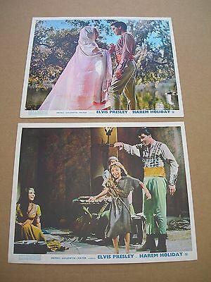 Front-of-house group HAREM HIOLIDAY- HARuM SCARuM- UK Lobby cards 1965  Presley