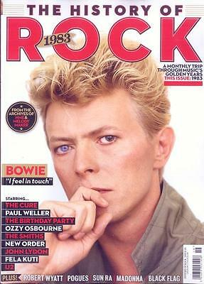 Uncut - The History Of Rock - Issue 19 (1983, Bowie, Cure, Weller, U2) New