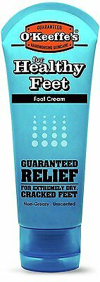O'Keeffe's Working Feet Cream Tube For Extremely Dry Cracked Foot Skin 85g