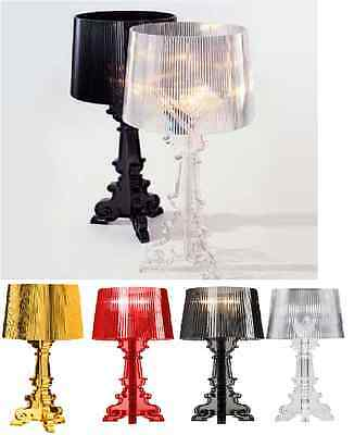 Roman Conrad Bourgie Style Table lamp Desk Light Transparent Red Black Gold