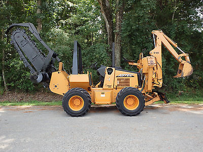 2006 Astec RT660 trencher / backhoe,  good  chain, case, ditch witch, vermeer