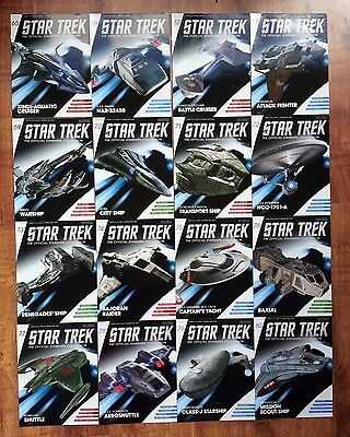 Star Trek Eaglemoss Magazines Only Issues 65 - 98 & Specials Collection Lot