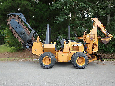 2007 Astec RT660 trencher / backhoe,  good  chain, case, ditch witch, vermeer