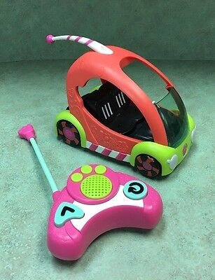 """LITTLEST PET SHOP """"Speedy Tails"""" REMOTE CONTROL CAR Pre-owned Works Great :)"""