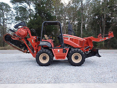 2008 Ditch Witch RT115 trencher / plow / reel carrier, vermeer, astec, case