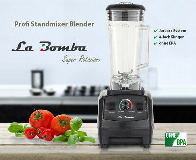 Mixer La Bomba® Competizione GTS, Blender, Standmixer, Smooothiemaker, 36000 rpm