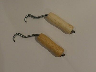 Rebar Tie Wire Twister- 2 pc pack w/wooden handle  FREE SHIPPING!!!!!!
