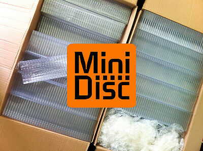 500x MiniDisc cases - MD DATA - Mini Disk box (in compact disc style) E