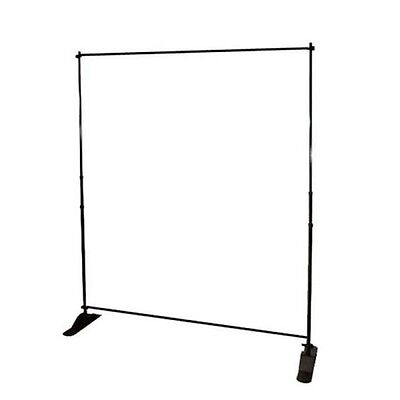 8'x8' Telescopic Adjustable Aluminum Backdrop Stand/Frame