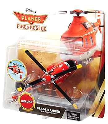 Die Cast Vehicle Disney Planes Fire and Rescue Deluxe Blade Ranger Windlifter