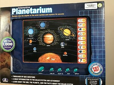 Scientific-Interactive Planetarium National Geographic Solar System Learning Toy