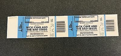 Nick Cave Tickets x 2 Terrace Melb Sat 28th