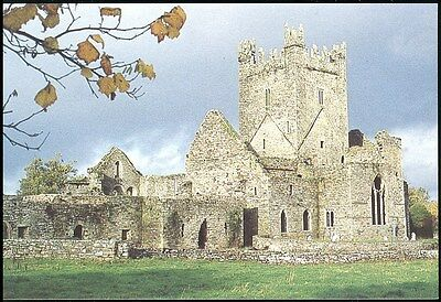 Postcard -Jerpoint Abbey Thomastown Co Kilkenny Unposted -Office Of Public Works