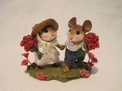 Wee Forest Folk Strolling Through the Seasons Red - Limited Edition Spring 2004