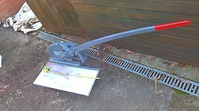 Industrial  Metal Guillotine, Heavy Cast 50-60 kgs in weight