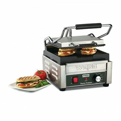 Waring Commercial Ribbed Perfetto Panini Grill