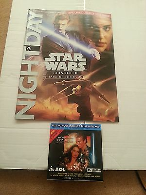 Star Wars ATTACK OF THE CLONES Mail on Sunday Supplement with CD-ROM & Poster