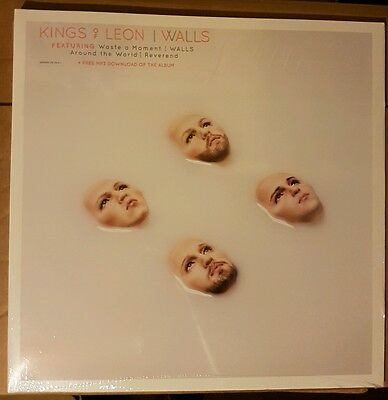 Kings Of Leon Walls - Blue Marble Vinyl LP Brand New Very Limited Release