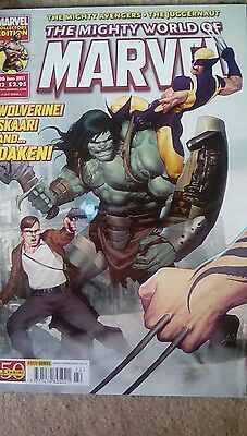 THE MIGHTY WORLD OF MARVEL - Vol 4 - No 22 - Date 08/06/2011 - Marvel Comic