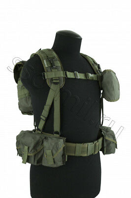 SMERSH SVD Sniper Tactical Vest in Olive by SSO SPOSN Russian Military ORIGINAL