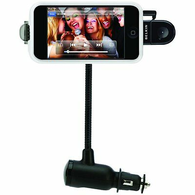New Belkin Tunebase Direct With Hands-Free Iphone 3G/s 4/s Ipod Touch/nano