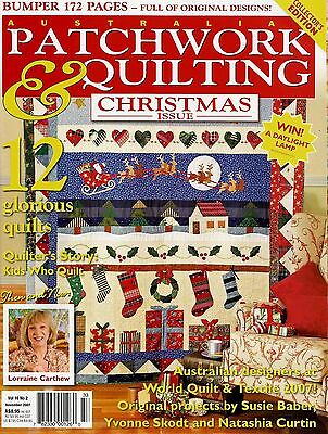 Patchwork & Quilting Christmas Issue  Magazine.vol 16 No 2.  2007.