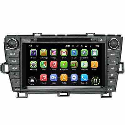 "8"" Android Car DVD Headunit GPS Radio Stereo for Toyota Prius 2009-2015 Navi"