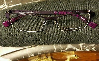 d126767bad3 New Prodesign Denmark 1247 C. 3531 Eyeglasses 50 16 140 Purple Tortoise  Brown