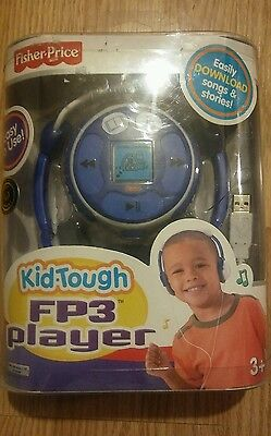 New Fisher Price - Fp3 Player - Kid Tough Blue 128Mb Brand Rare