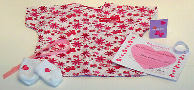 Sale! American Girl Doll 6 Piece Hospital Gown Set! Fits Melody~Julie~Maryellen!