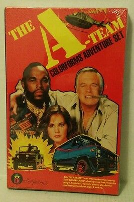 vtg 1983 The A-Team Colorforms Adventure Set NEW IN BOX   Factory Sealed