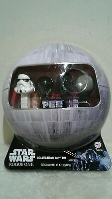 New Star Wars Rogue 1 PEZ Collectible Gift Tin 4 Dispensers Holiday Gift Disney