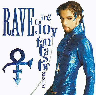 PRINCE- – Rave In2 The Joy Fantastic Xtended CD card sleeve