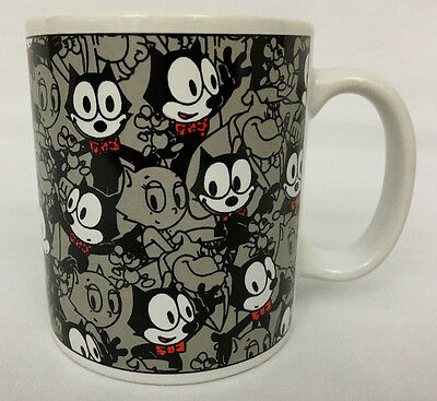 Felix The Cat Coffee Mug New Felix The Cat Girlfriend Kitty Cat Mug 12oz