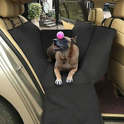 Topist Dog Car Seat Cover Waterproof Durable Oxford Cloth Auto Rear Seat Cove...