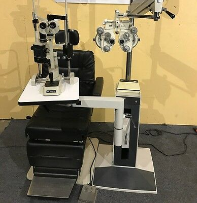 Reliance 5200 exam chair 7700 stand Topcon Phoropter Shin Nippon Slit Lamp Lane