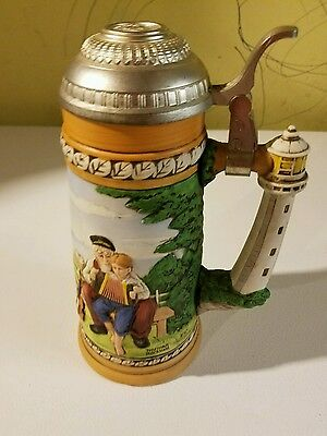 Norman Rockwell THE MUSIC LESSON Stein - Limited Edition #905