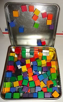 Magnetic Color Cubes - Art/games/toys/children's Imagination - Refrigerator Art!