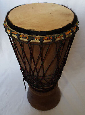 Professional quality African Boogaraboo drum similar to Djembe - 62cm tall