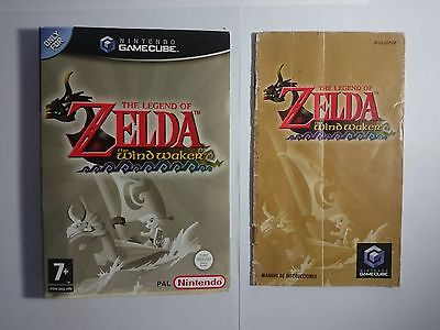 The Legend of Zelda Wind Waker GAMECUBE (Cover and instructions) NO GAME